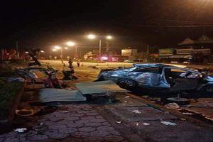 Xe khách đâm taxi đang sang đường, 3 người tử vong tại chỗ