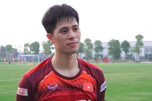 Đình Trọng tiếc nuối không được nâng cúp vô địch cùng Hà Nội FC