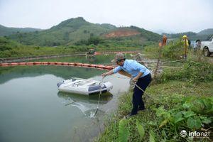 Cận cảnh quá trình xử lý môi trường sau sự cố tại nhà máy nước sạch Sông Đà