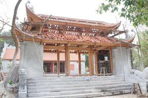 Bắc Giang tăng cường kiểm tra công tác quản lý di tích