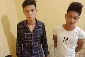 Bắt 2 đối tượng ở Vĩnh Phúc cướp giật tài sản người đi đường để lấy tiền mua ma túy