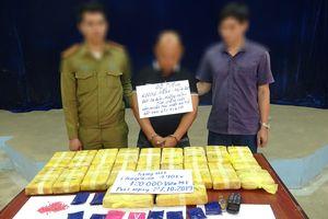Hà Tĩnh: Bắt đối tượng vận chuyển 120.000 viên ma túy tổng hợp từ Lào về Việt Nam