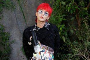Với style độc lạ, G-Dragon luôn trở thành tâm điểm tại fashion week