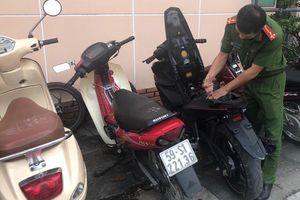 Bắt băng nghiện ma túy phát hiện đường dây trộm xe máy