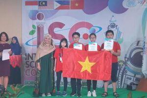 Học sinh Việt Nam đạt 39 Huy chương trong cuộc thi Khoa học quốc tế ISC 2019