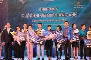 Nữ cán bộ công an Hà Tĩnh giành giải nhất cuộc thi Olympic tiếng Anh