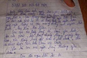 Bé 3 ngày tuổi bị bỏ lại cổng chùa kèm thư của người mẹ