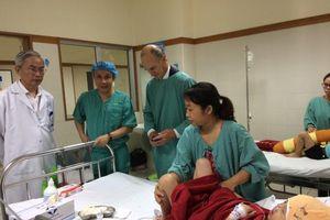 BV Trung ương Huế: Phẫu thuật thành công trường hợp dị tật hiếm gặp trên thế giới