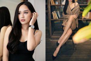 Hoa hậu Mai Phương Thúy rơi vào thế 'dở khóc dở cười' chỉ vì chân quá dài