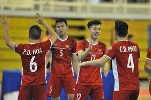 Thắng đậm Myanmar, tuyển Việt Nam giành vé dự VCK futsal châu Á 2020