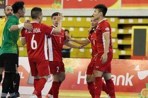 Hủy diệt Myanmar, tuyển futsal Việt Nam 'bắn' trúng 2 mục tiêu