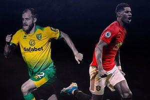 Đội hình dự kiến Norwich - MU: Anthony Martial đá cặp Marcus Rashford?