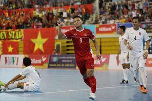 Đè bẹp Myanmar, Việt Nam giành huy chương đồng AFF HD Bank Futsal Championship