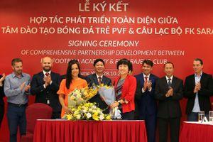 PVF tiến thêm một bước trên hành trình 'xuất khẩu' cầu thủ Việt sang châu Âu