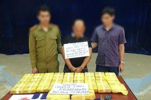 Ngăn chặn vụ vận chuyển 120.000 viên ma túy từ Lào về Việt Nam
