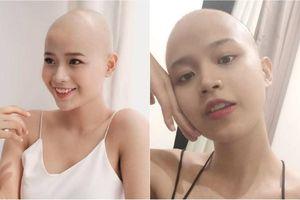 Cạo đầu vì bệnh hiểm nghèo, nữ sinh FTU vẫn quyết thi nhan sắc