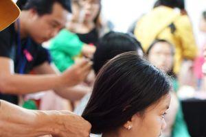 Hơn 300 bộ tóc thật hiến tặng bệnh nhân ung thư