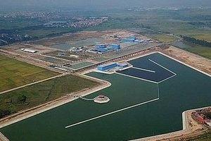 Nhà máy nước mặt sông Đuống chưa có 'văn bản cuối cùng chấp thuận kết quả nghiệm thu'