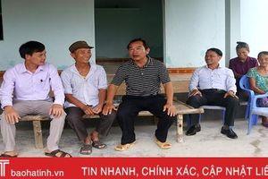 48 hộ dân xã ven biển Hà Tĩnh tự nguyện làm đơn xin ra khỏi hộ nghèo