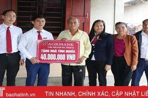 Agribank Hà Tĩnh II chi hơn 10 tỷ đồng cho công tác an sinh xã hội