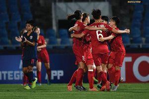 Việt Nam thắng thuyết phục Thái Lan ở VCK nữ U19 châu Á