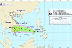 Vùng áp thấp trên Biển Đông sẽ mạnh lên thành bão