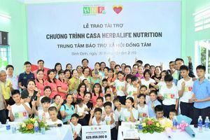 Quỹ Herbalife Nutrition hỗ trợ dinh dưỡng năm thứ 7 cho trẻ tại Trung tâm Đồng Tâm