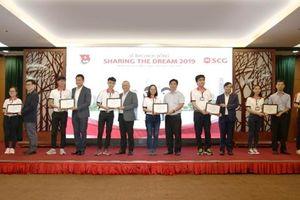 Học bổng SCG 2019 tiếp sức ước mơ cho sinh viên Việt