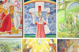 Triển lãm tranh dân gian Nga 'Nghi lễ cưới của các dân tộc Nga'