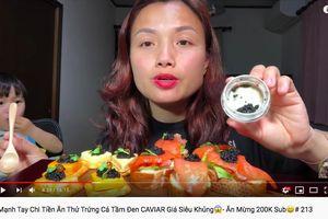 Chi tiền khủng ăn toàn sơn hào hải vị, Quỳnh Trần JP đích thị là nữ YouTuber ẩm thực 'chịu chơi' nhất hệ mặt trời!