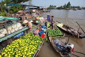 Cần Thơ phát triển du lịch sông nước, miệt vườn