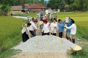 Nông thôn mới ở Điện Biên