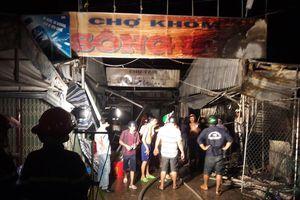 Cà Mau lại xảy ra hỏa hoạn, cháy rụi bảy căn nhà
