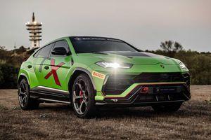 Siêu SUV thể thao Lamborghini Urus bản xe đua lộ diện