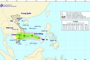 Chiều tối 30/10, nguy cơ bão số 5 đổ bộ Bình Định – Ninh Thuận, mưa lũ đe dọa nhiều địa phương