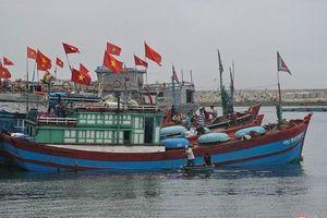 Ảnh hưởng áp thấp nhiệt đới, huyện Lý Sơn cấm biển