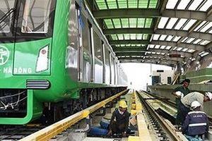 Đường sắt Cát Linh - Hà Đông chạy thử để nghiệm thu