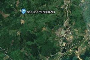 Khảo sát làm sân golf cạnh nguồn nước sạch Sông Đà