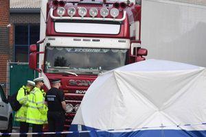 39 người trong container ở Anh chết vì ngạt, không phải vì lạnh cóng?