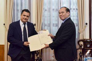 Việt Nam bổ nhiệm Lãnh sự danh dự tại Italy