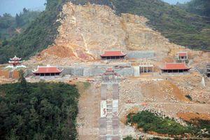 Tạm đình chỉ, tổng kiểm tra siêu dự án 'bạt núi' làm du lịch ở cột cờ Lũng Cú