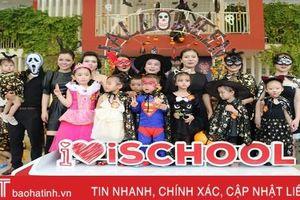 Thích thú hóa...'quỷ nhỏ' đón mùa lễ hội Halloween tại TP Hà Tĩnh