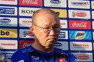 HLV Park Hang Seo: 'Bảng đấu 6 đội sẽ là bất lợi với U22 Việt Nam'