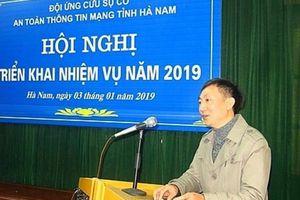 Phó giám đốc Sở TT&TT Hà Nam bị kỷ luật vì vi phạm gì?