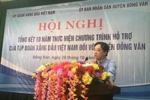 Petrolimex hỗ trợ gần 80 tỷ đồng cho huyện Đồng Văn theo Chương trình 30a