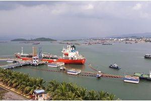 Cảng dầu B12 đón tàu Long Phú 20 lần đầu tiên cập cầu 40.000 DWT