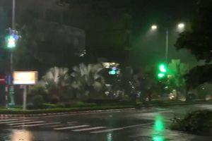 Bão số 5 gây mất điện hàng loạt khu vực ở Phú Yên