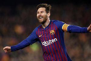 Messi vượt Ronaldo về thành tích ghi bàn ở câu lạc bộ