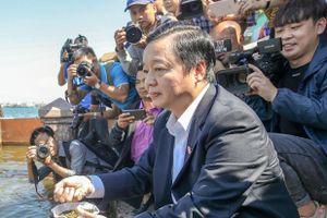 Bộ trưởng Trần Hồng Hà thị sát công nghệ làm sạch của Nhật Bản
