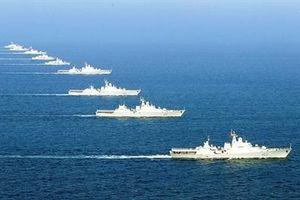 Chiến hạm hiện đại nhất Việt Nam tập trung tác chiến